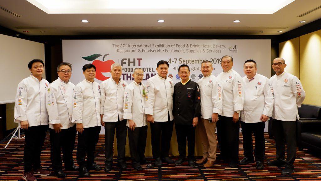 ตัวแทนสมาคมพ่อครัวไทย